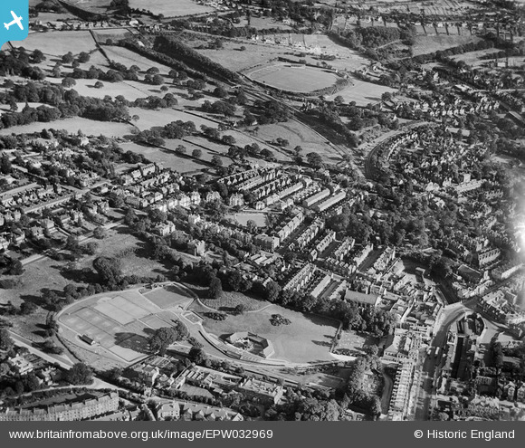 Calverley Park and environs in 1930