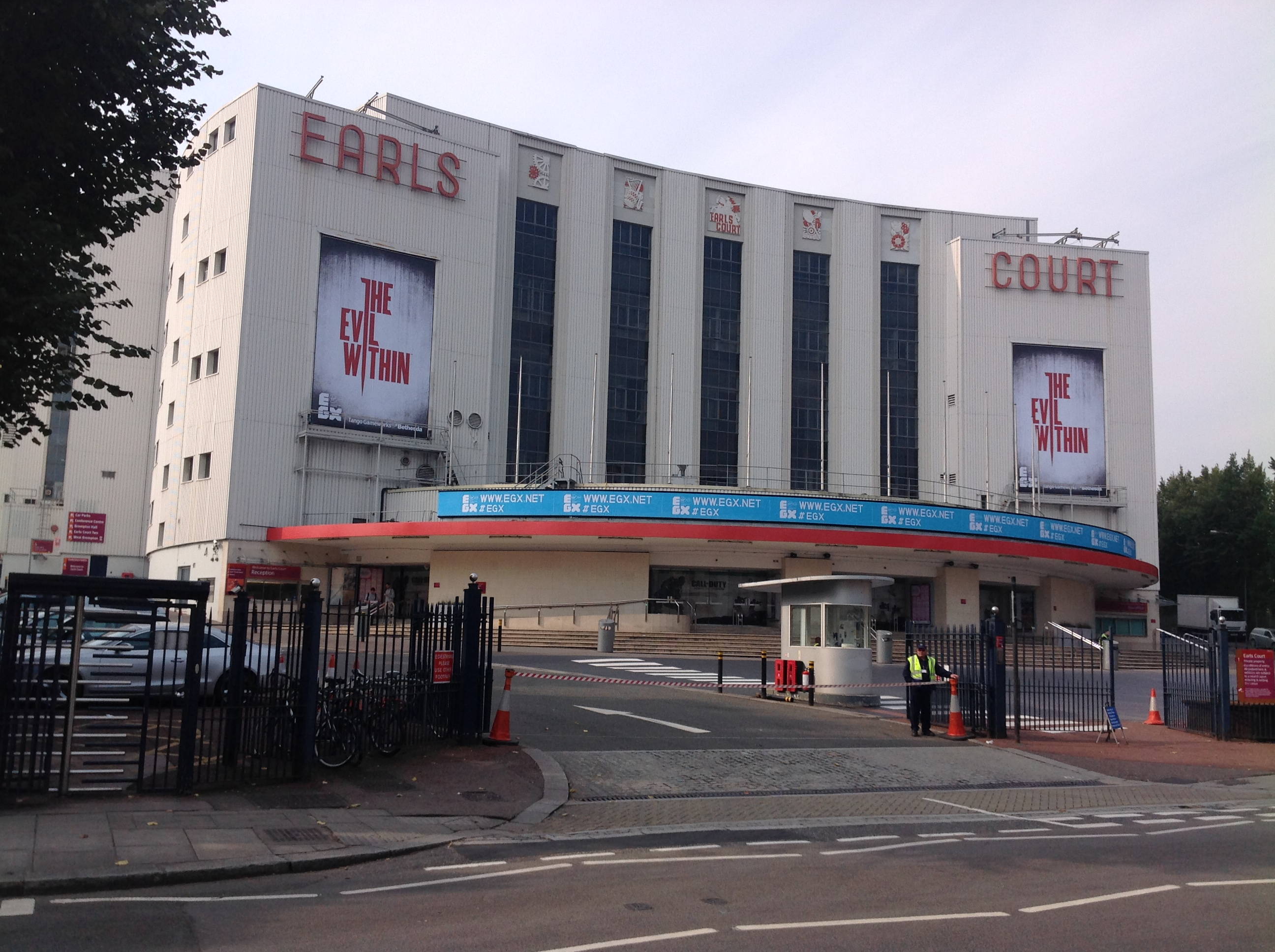 The Earls Court Exhibition Centre (Earls Court One) under ...