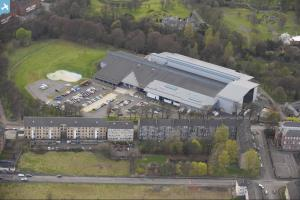 Britain from above for Swimming pool west end glasgow